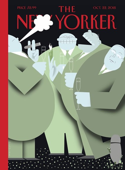 The New Yorker Cover - 10/22/2018
