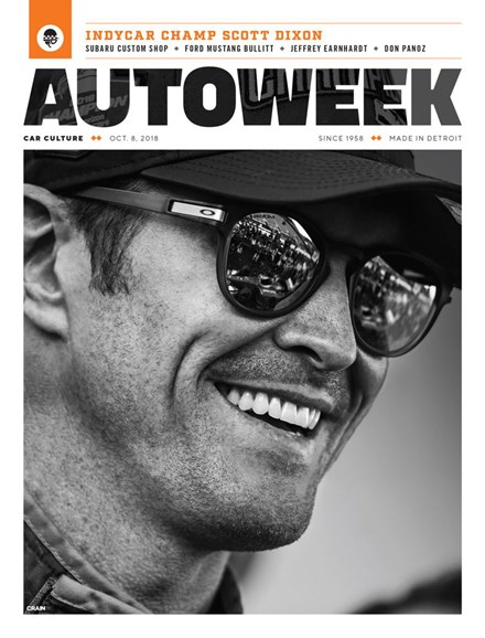 Autoweek Cover - 10/8/2018