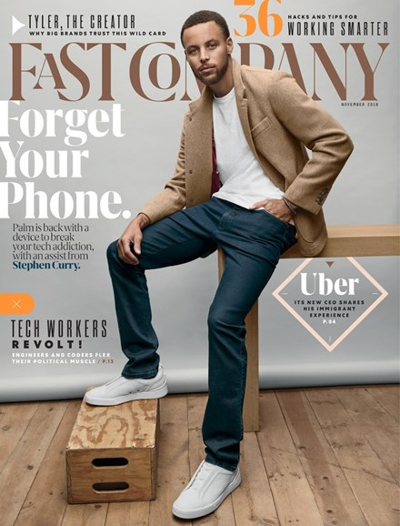 Fast Company Cover - 11/1/2018