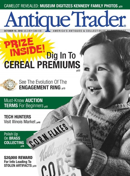 Antique Trader Cover - 10/10/2018