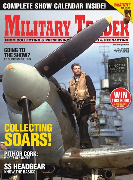 Military Trader Cover - 10/1/2018