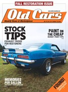 Old Cars Weekly Magazine 10/18/2018