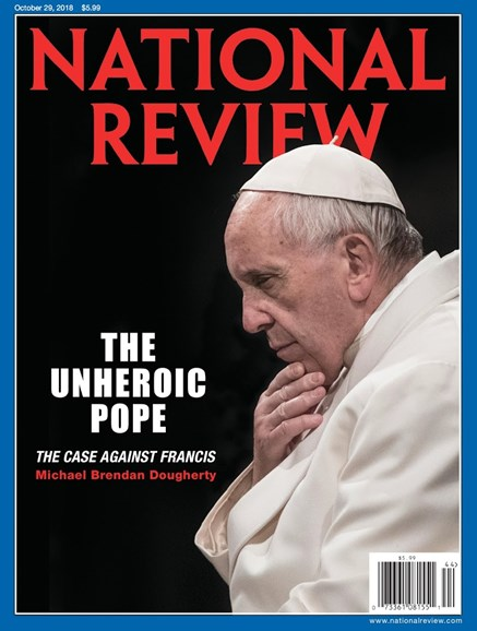 National Review Cover - 10/29/2018