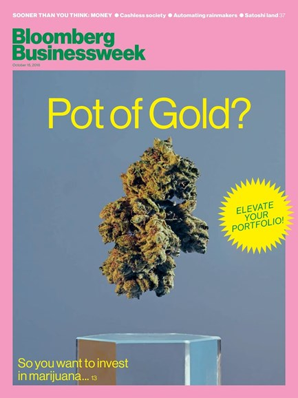 Bloomberg Businessweek Cover - 10/15/2018
