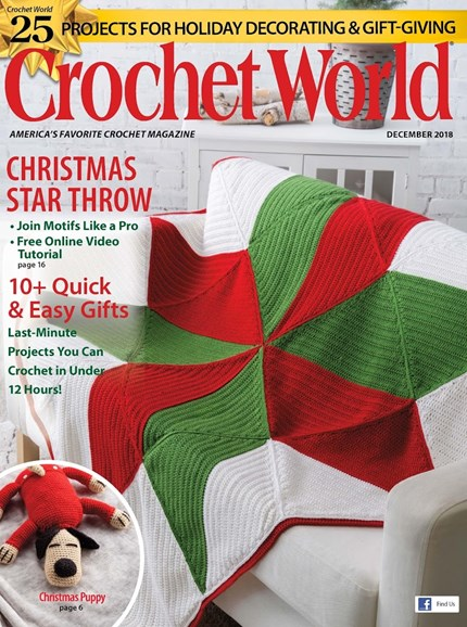 Crochet World Cover - 12/1/2018