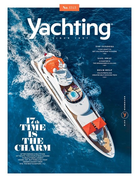 Yachting Cover - 11/1/2018