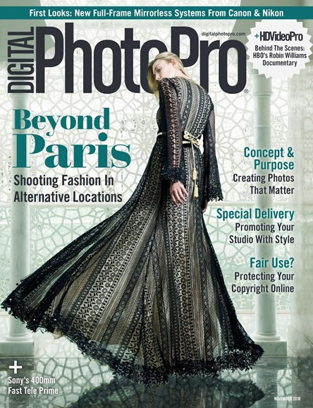 Digital Photo Pro Cover - 11/1/2018