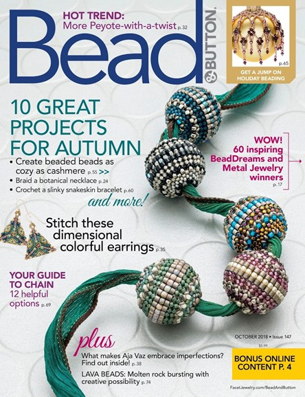 Bead & Button Cover - 10/1/2018