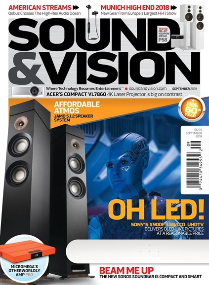 Sound & Vision Cover - 9/1/2018