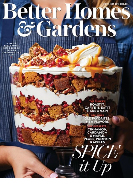 Better Homes & Gardens Cover - 11/1/2018