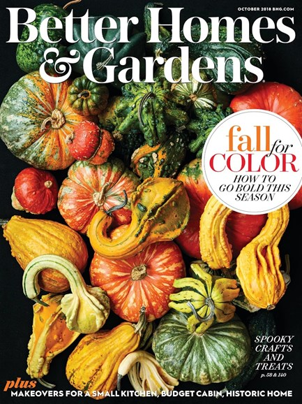 Better Homes & Gardens Cover - 10/1/2018