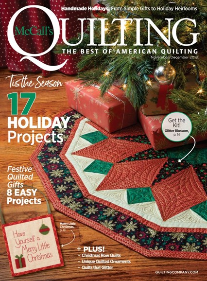 McCall's Quilting Cover - 11/1/2018