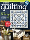 American Patchwork & Quilting Magazine | 12/1/2018 Cover