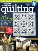 American Patchwork & Quilting Magazine 12/1/2018
