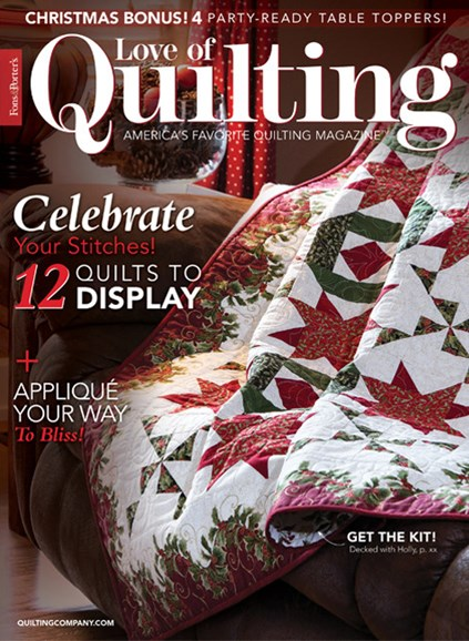Fons & Porter's Love of Quilting Cover - 11/1/2018