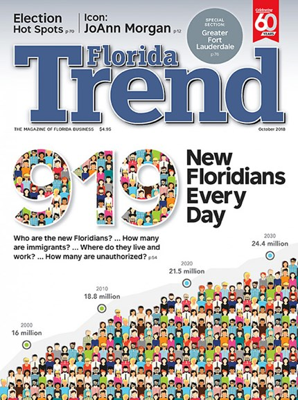 Florida Trend Cover - 10/1/2018