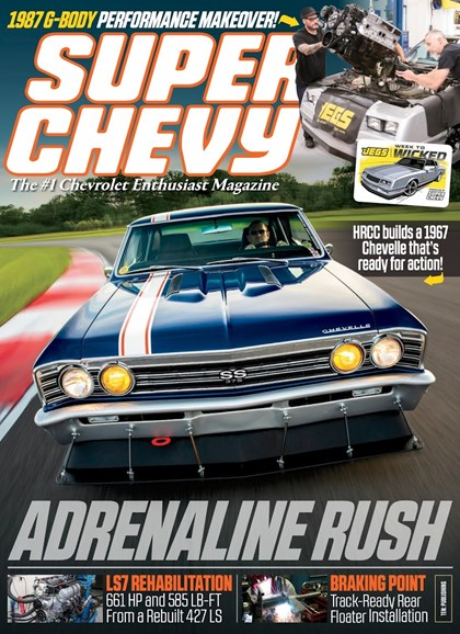 Super Chevy Cover - 12/1/2018