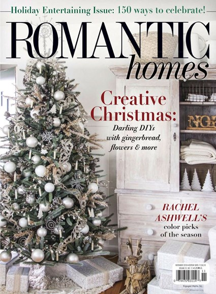 Romantic Homes Cover - 11/1/2018