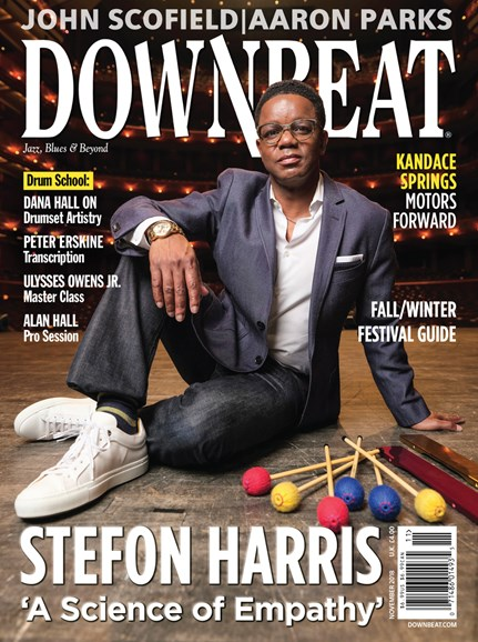 DownBeat Cover - 11/1/2018