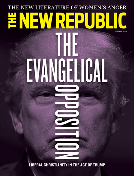 The New Republic Cover - 10/1/2018