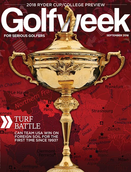 Golfweek Cover - 9/1/2018
