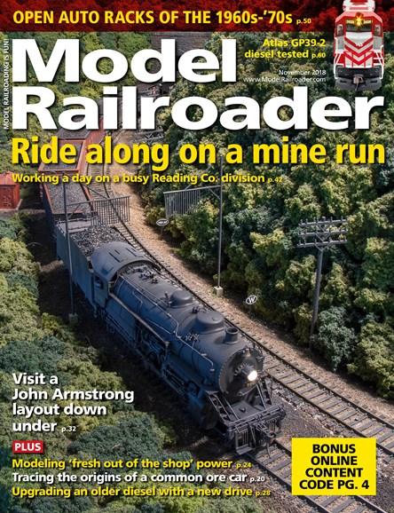 Model Railroader Cover - 11/1/2018