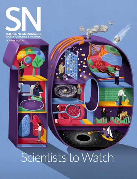 Science News Cover - 10/13/2018