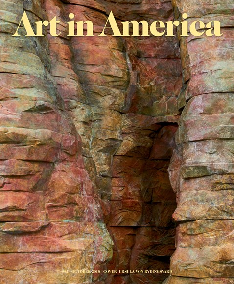 Art In America Cover - 10/1/2018