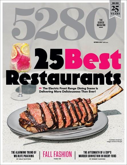 5280 Magazine Cover - 10/1/2018