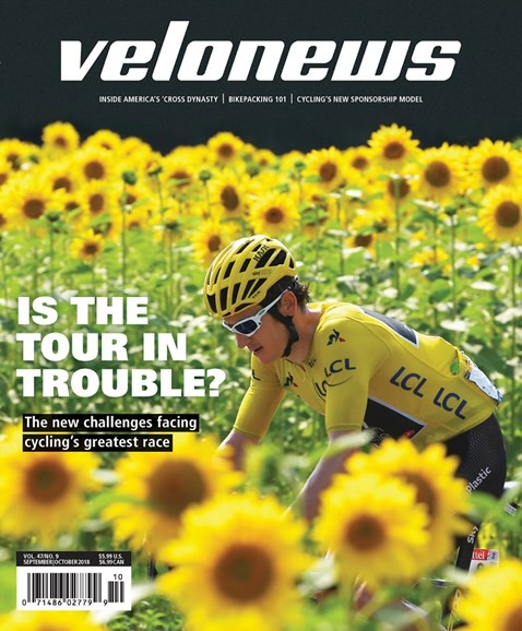 VeloNews Cover - 9/1/2018