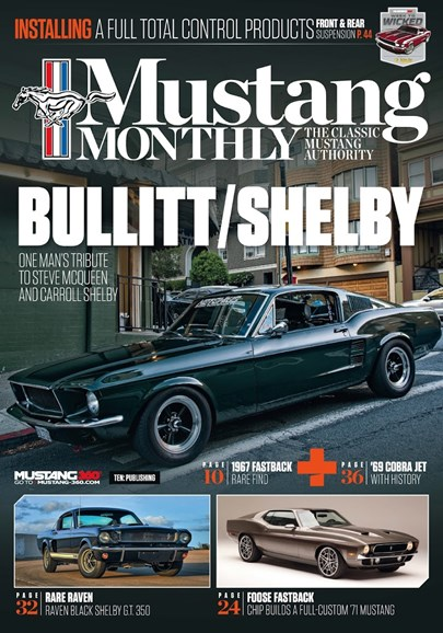 Mustang Monthly Cover - 11/1/2018