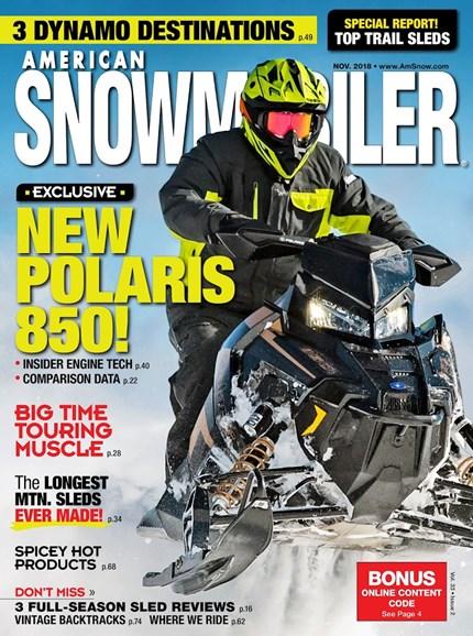 American Snowmobiler Cover - 11/1/2018