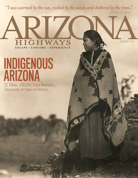 Arizona Highways Cover - 11/1/2018