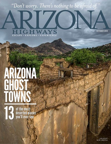 Arizona Highways Cover - 10/1/2018