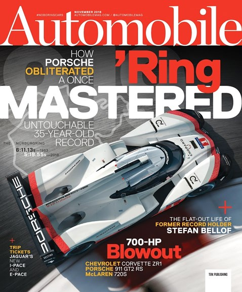 Automobile Cover - 11/1/2018