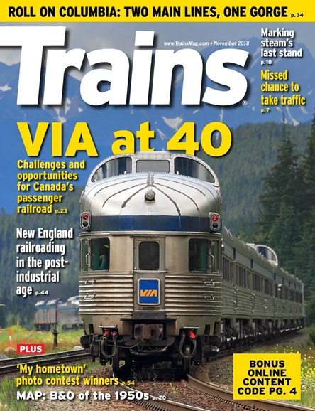 Trains Cover - 11/1/2018