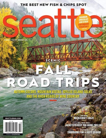 Seattle Magazine Cover - 10/1/2018