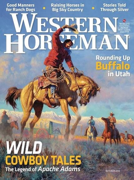 Western Horseman Cover - 10/1/2018