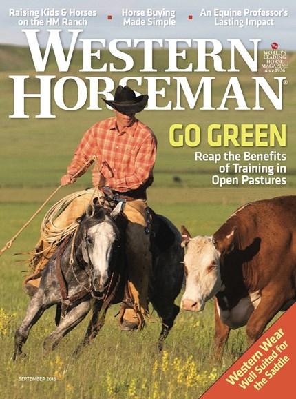Western Horseman Cover - 9/1/2018
