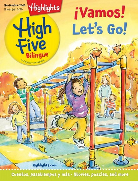 Highlights High Five Bilingue Cover - 11/1/2018