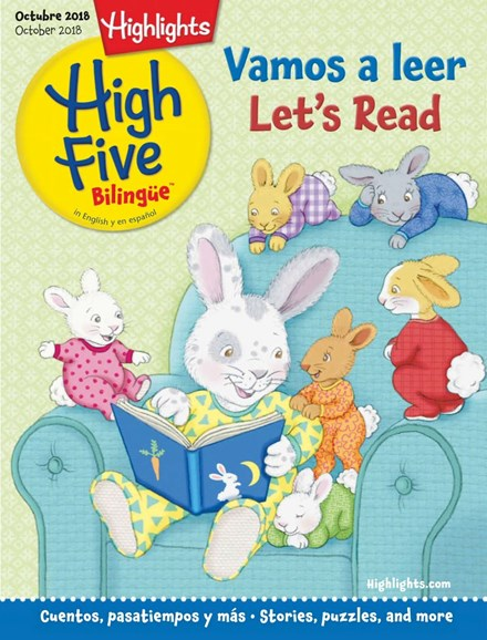 Highlights High Five Bilingue Cover - 10/1/2018