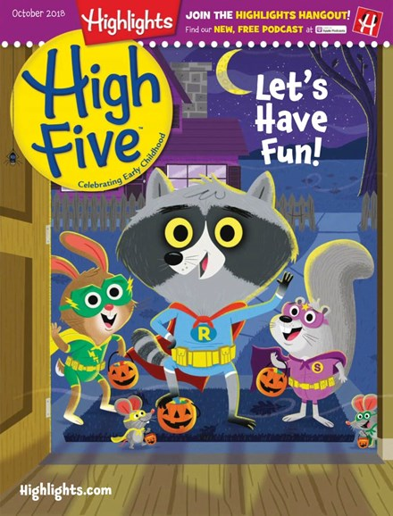 Highlights High Five Cover - 10/1/2018