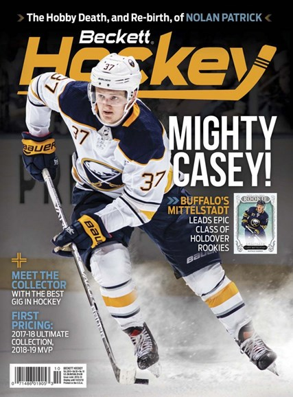Beckett Hockey Cover - 10/1/2018