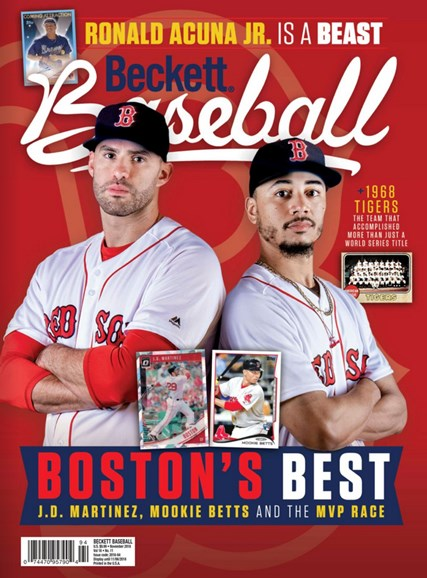 Beckett Baseball Cover - 11/1/2018