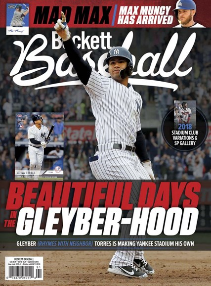Beckett Baseball Cover - 9/1/2018