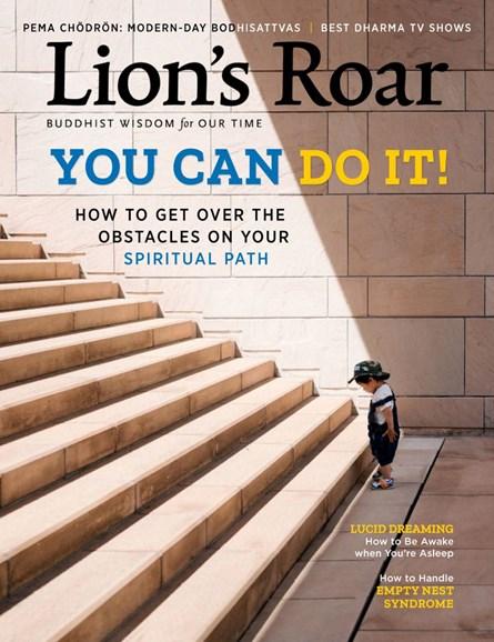 Lion's Roar Cover - 11/1/2018
