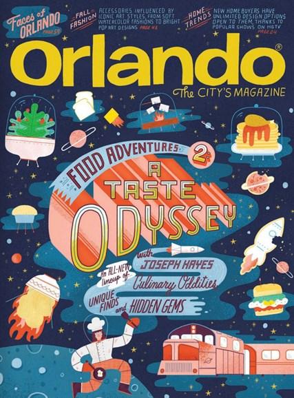 Orlando Magazine Cover - 10/1/2018