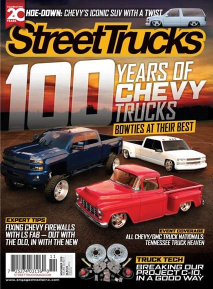 Street Trucks Cover - 11/1/2018