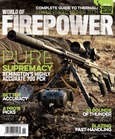 World of Firepower Cover - 11/1/2018