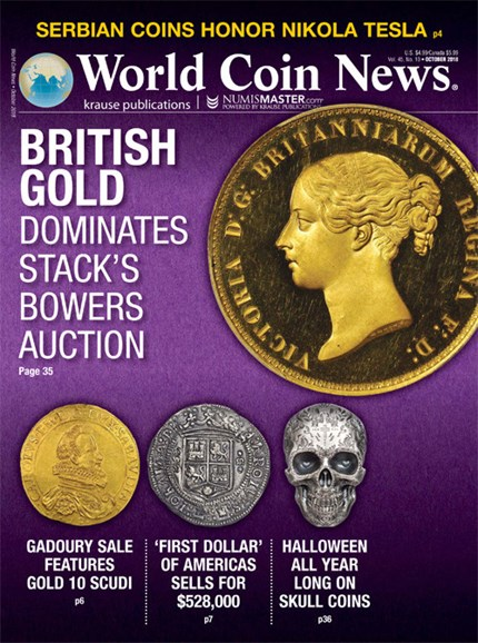 World Coin News Cover - 10/1/2018